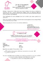 Bulletin adhésion 2019