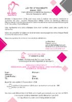 Bulletin adhésion 2020