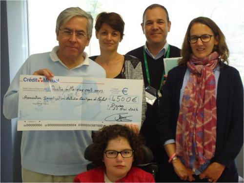 2014 : Association Léna remise don necker - 4 500€