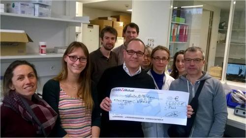 2017 : Service génétique Necker Paris – 4 000€