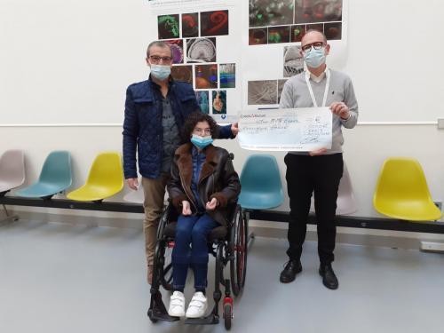 2020 : Don à Jean-Michel ROZET Président de l'Association IMAGE pour aider le Centre Génétique Médicale Hôpital Necker Enfants Malades - 3 000€