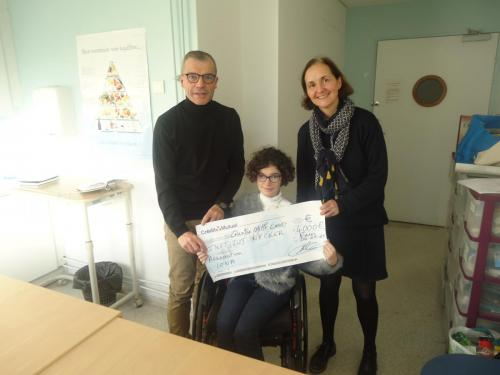 2019 : Don au Pr De Lonlay de l'hôpital Necker - 4 000€
