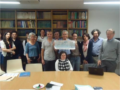 2015 : Pr. Munnich Necker remise don - 3 000€